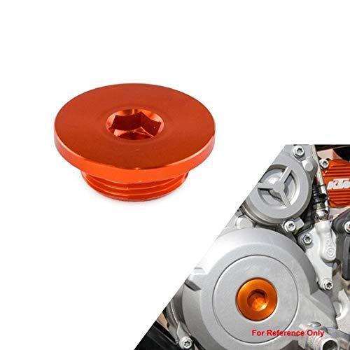 DishyKooker CNC Ignition Cover Plug for KTM 250 350 450 SXF XCF EXC-F EXC-F Duke 390 RC390 690 Enduro SMC 1190 RC8 990 950 Adventure (Plugs Ignition Cover)