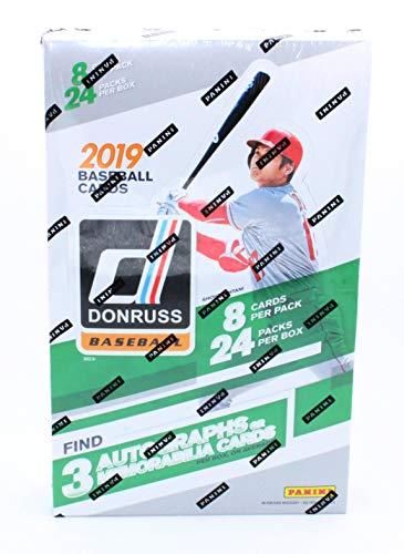 2019 Panini Donruss MLB Baseball Hobby Box ()
