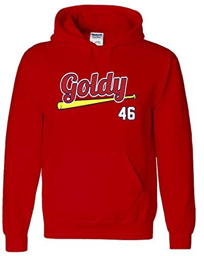 RED St Louis Goldschmidt Goldy Hooded Sweatshirt Adult