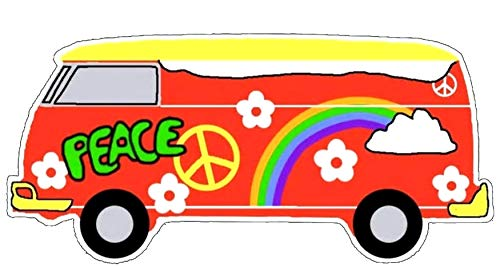 70'S Themed Series - Peace Bus - 4.92