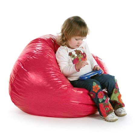 Fabulous X Rocker Ace Bayou Fuchsia Petal Round Vinyl Matte Bean Bag Andrewgaddart Wooden Chair Designs For Living Room Andrewgaddartcom