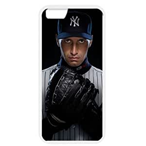 MLB iPhone 6 White New York Yankees cell phone cases&Gift Holiday&Christmas Gifts NBGH6C9125124