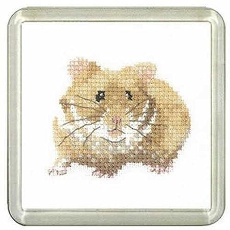 Wood Mouse Heritage Crafts Cross Stitch Kit