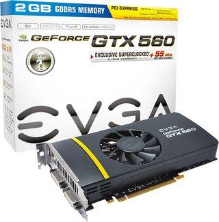Amazon.com: EVGA GeForce GTX 560 tarjeta gráfica (2GB ...