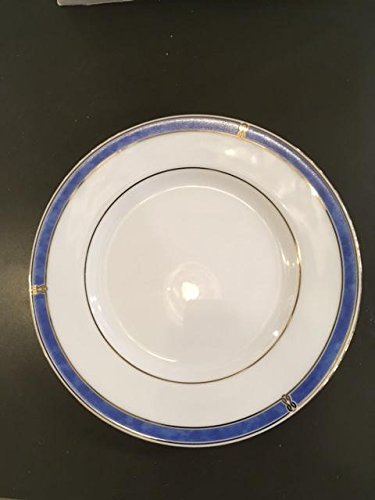 Christofle Oceana Blue Porcelaine Bread and butter plate (cocktail plate) 6.25\u0026quot; & Amazon.com | Christofle Oceana Blue Porcelaine Bread and butter ...