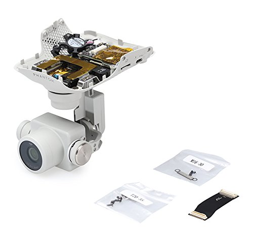 DJI Part 63 3-Axis Stabilized Gimbal and 20MP C4K Camera for Phantom 4 Pro/Advanced Quadcopter (Advanced Camera)