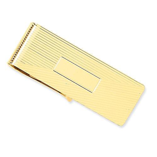 Mm Amarillo Sólido De 14k X Oro 20 Dinero Mm Clip 54 w0dTTq6X