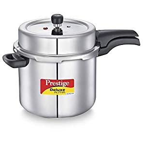 Prestige Svachh Deluxe Alpha 10 Litre Stainless Steel Pressure Cooker
