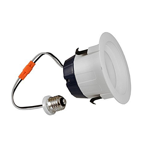 SYLVANIA Ultra 50-Watt Equivalent White Trim Dimmable LED Recessed Retrofit Downlight (Fits Housing Diameter: 4-in)