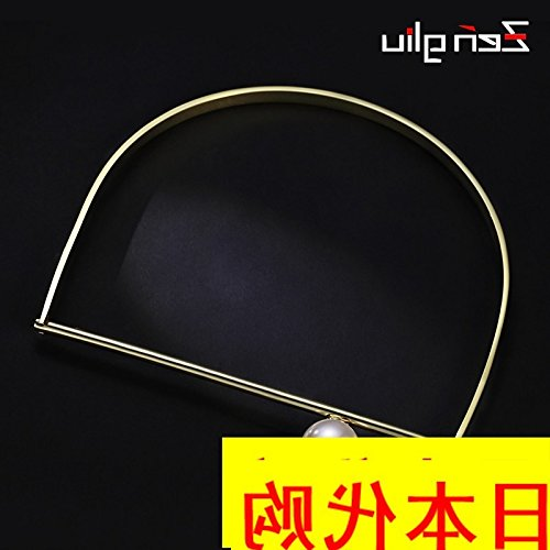 Generic Japanese_shopping_ Korea collar necklace Pendant fashion women girl pearl ornaments fall winter clothing accessories neck ornaments