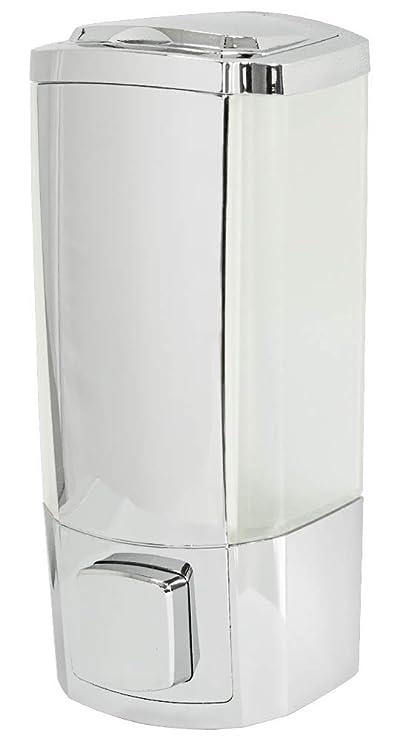 Dispensador Dosificador de Jabón Líquido Shampoo 300 ml para Pared Sanlingo