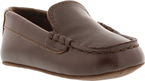 Kenneth Cole REACTION Baby Driver Boot (Infant/Toddler), Brown, 4 M US Toddler