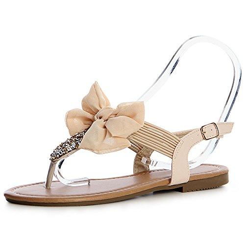 topschuhe24 topschuhe24 Sandales Femmes Sandales Sandalettes Sandalettes Beige Femmes Beige aqFnUU6