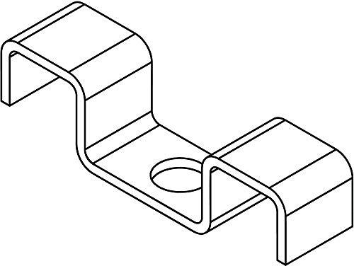 316 Stainless Steel Grating Clip; PK25