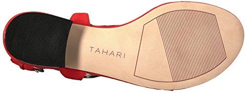 Orange Ta Sandal Women's Tahari lacie Flat x75zxnZ