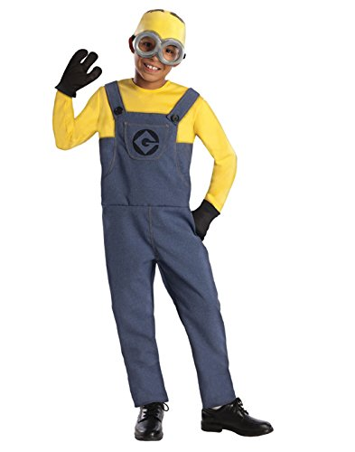 Minion Costumes For Boys (Despicable Me 2 Deluxe Dave Minion Costume,)