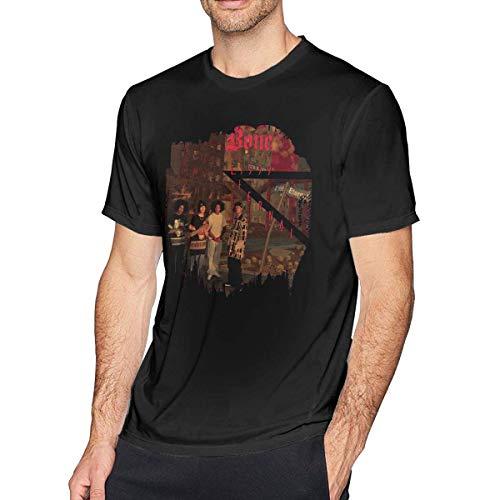 Men T Shirt Bone Thugs N Harmony Fashion Cotton Short Sleeve Tee Black