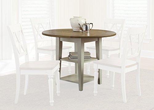 Liberty Furniture 841-T4242 Al Fresco III Drop Leaf Leg Table, 42