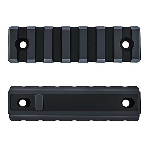 Omamba Keymod Picatinny Rail Section, 2 Pack 7-Slot Lightweight Polymer Weaver Rail For AR-15 Key Mod Handguard Mount Rail System by Omamba