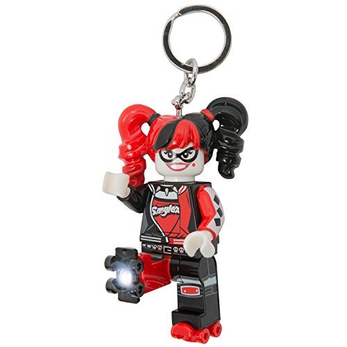 LEGO Batman Movie - Harley Quinn LED Key Chain - Keychain Lego Batman