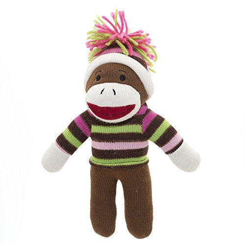 Christmas Sock Monkey with Winter Hat and Sweater!