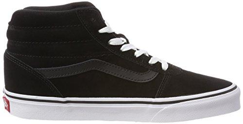Suede Femme 0xt Black suede Hautes Noir Hi Baskets Vans Ward white XZqAEE