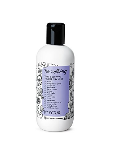 100% Vegan Volume Shampoo - Very Sensitive Hypoallergenic Shampoo Cleanses and Gives Volume to Thin Hair - Allergen Free, Fragrance Free, Paraben Free, Gluten Free, Unscented 10.15 oz 1