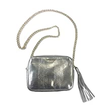 Victoria's Secret Official Crossbody Bag Of The Fashion Show Silver With Chain