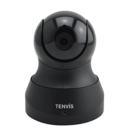Tenvis D200 720P HD H.264 WiFi Phone Remote Monitoring IP Camera with Pan&Tilt Control Bulit-in Microphone UID Code Scan and Motion Detection