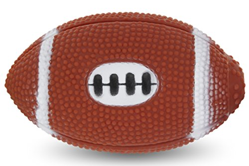 (RAM-PRO Small Squeaky Dog Football Toy 4.5