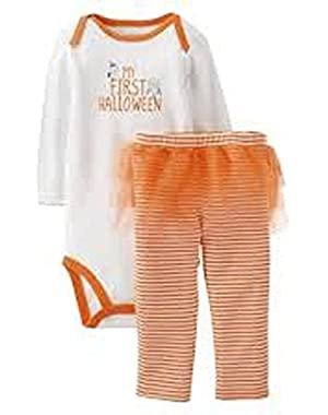 Just One You Made By Carter's Baby Girls' Infant 2 Piece Set My First Halloween