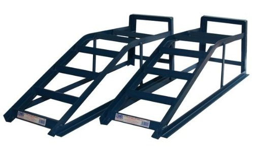Cougar CRW25-COU-FPS 2.5 Tonne Ramp Wide Pair Car Maintenance Lifting Equipment Ramps AutoMotion Factors Limited