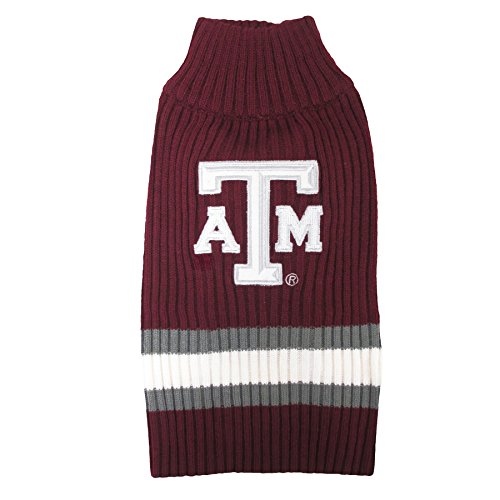 Pets First Collegiate Texas A&M Aggies Pet Sweater, Small ()