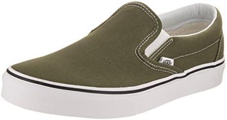 on Slip Skate Vans Shoes Sneakerswinter Moss WhiteUnisex