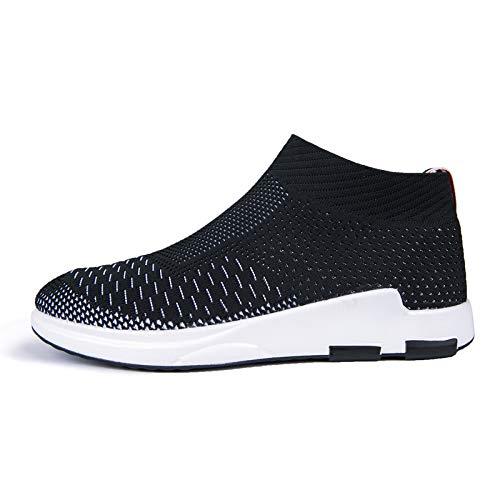 Liuxc Turnschuhe Sportschuhe der Männer beiläufige Schuhe Sommer Sommer Sommer atmungsaktive Tragen Sportschuhe leichte Sätze Füße hoch, um Männer Bequeme Freizeitschuhe zu helfen 030bb5