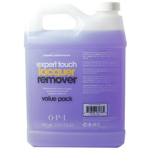 Expert Touch Nail Polish/Gel Remover 32oz/960ml - Pack of 2.