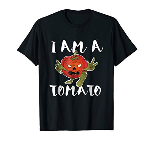 I Am a Tomato Halloween Shirt Easy Costume Idea! Unique Fun -