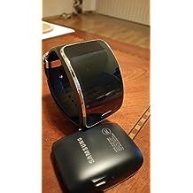 Genuine SAMSUNG SM-R750 Galaxy Gear S 3G W-CDMA GSM Smart Watch [ Black ]