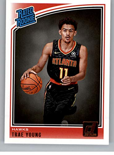 2018-19 Panini Donruss Trae Young Rookie Card Rc #198 Sports Mem, Cards & Fan Shop