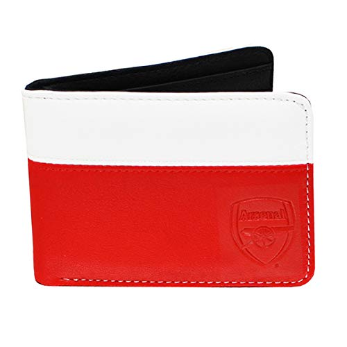 Arsenal FC Wallet - 2 Tone with Debossed Crest