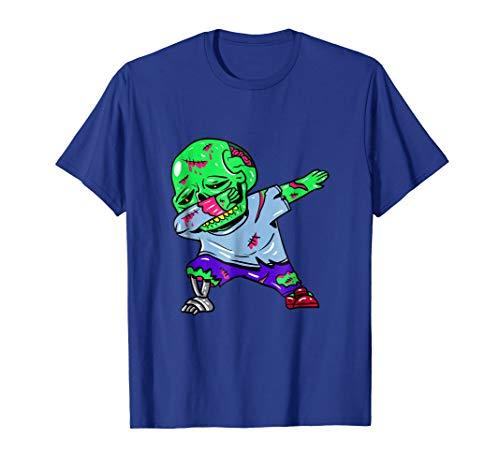 Dabbing Zombie T-Shirt - Zombie Halloween Costume Dab Dance