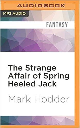 Book The Strange Affair of Spring Heeled Jack (Burton & Swinburne)