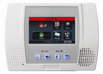 Honeywell Ademco L5000 Lynx Touch Wireless Alarm Keypad