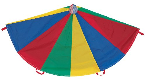 Champion Sports Multi-Colored Parachute, 20-Foot Diameter]()