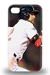 New Arrival Cover Case With Nice Design For Iphone 4/4s MLB New York Yankees Jacoby Ellsbury #22