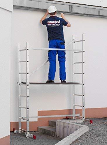 Strukturo Fahrger/üst Arbeitsh/öhe 5 m Rollger/üst Leichter Aufbau