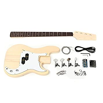 HKHJN Guitarra eléctrica de bricolaje sin terminar Cuerpo de ...