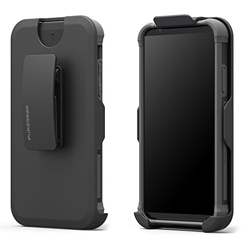 PureGear DualTek Extreme Shock - Hip Case for - Apple iPhone X (Matte Black) (Puregear Dualtek Extreme Shock)