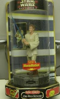 The Keeper Evil Within Costume (Star Wars Episode 1 Rotate 360 Degree 6 Inch Tall Year 1999 Action Figure - Epic Force Obi-Wan Kenobi with Movie Motion Animated Battle Moves)