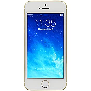Apple iPhone 5S 16 GB Unlocked, Gold (Certified Refurbished)